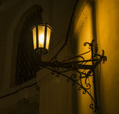 Hejnice church in dark winter night Royalty Free Stock Image