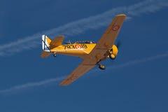 Hekelend vliegtuig Royalty-vrije Stock Foto
