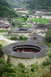 Hekeng tulou cluster. In Fujian province,China Royalty Free Stock Photography