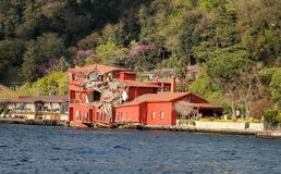 Hekimbasi Salih Efendi Mansion in Istanboel, Turkije Stock Afbeeldingen
