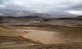 Hekla volcano Royalty Free Stock Photos