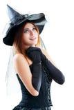 Heks Halloween Royalty-vrije Stock Afbeeldingen