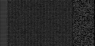 Heksadecymalny kodu usyp obraz royalty free