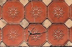 Heksagonalne Podłogowe płytki Obrazy Stock