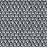 Heksagonalny ślimakowaty poligonalnego kształta wzoru tło lub szablon fotografia royalty free
