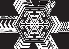 Heksagonalny expansion02 Obrazy Royalty Free