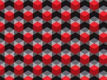 Heksagonalny komórka wzór ilustracji