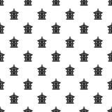 Heksagonalny pawilonu wzór, prosty styl Zdjęcia Royalty Free