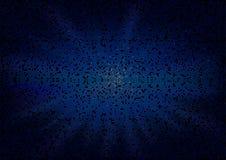 Heksagonalny tło z Supernowym wzorem ilustracja wektor