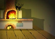 Heksenzaal stock illustratie