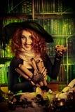 hekserij royalty-vrije stock afbeeldingen