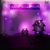 Hekserij Halloween Royalty-vrije Stock Fotografie