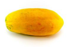 Hel mogen söt papaya Arkivfoto