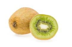 Hel och cuted kiwi Arkivbild