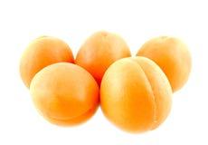 hela aprikosar Royaltyfri Fotografi