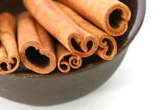 hela kanelbruna sticks Fotografering för Bildbyråer