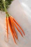 hela morötter arkivbilder
