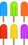 Helado colorido Imagen de archivo libre de regalías