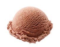 Helado de chocolate Imagen de archivo libre de regalías