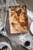 Helado del pan de jengibre Imagen de archivo