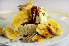 Helado del plátano Fotos de archivo
