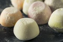 Helado dulce de Mochi del japonés Imágenes de archivo libres de regalías