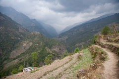 Helambu, Nepal Royalty Free Stock Photos