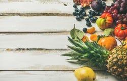 Helathy raw vegan food cooking background, selective focus