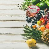 Helathy raw vegan food cooking background, square crop