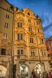 The Helblinghaus in Innsbruck, Austria. Royalty Free Stock Photography