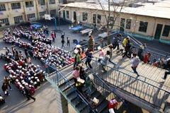 Held evacuation drills Royalty Free Stock Photos