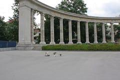 Held-Monument der roten Armee Lizenzfreie Stockfotografie