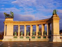 Held-Quadrat, Budapest Lizenzfreie Stockfotos
