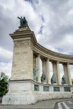 Held-Quadrat in Budapest Lizenzfreies Stockbild