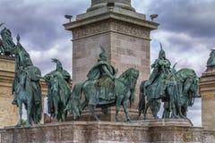 Held-Quadrat in Budapest Lizenzfreie Stockfotografie