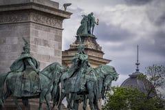 Held-Quadrat in Budapest Lizenzfreie Stockfotos