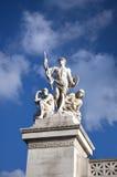 Helden in de wolken Royalty-vrije Stock Afbeelding