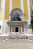 Helden` Vierkant in Szekesfehervar, Hongarije Stock Fotografie