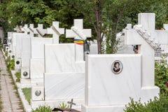 Heldenbegraafplaats Stock Foto's