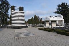 Heldenbegraafplaats, Timisoara Royalty-vrije Stock Afbeelding