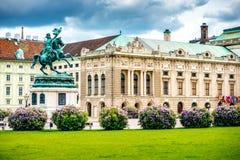 Heldenplatz à Vienne image libre de droits