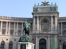 Heldenplatz and Hofburg Vienna, Austria Royalty Free Stock Photos
