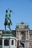Heldenplatz, Viena Foto de archivo