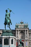 Heldenplatz, Wien Stockfoto
