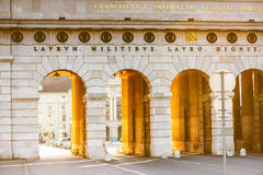 Heldentor gates in Vienna Royalty Free Stock Image