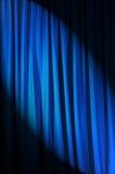 Helder aangestoken gordijnen - theaterconcept Stock Afbeelding