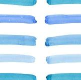 Helder abstract mooi schitterend elegant grafisch artistiek textuurblauw, turkoois, het patroon van ultramarijn horizontale lijne royalty-vrije illustratie