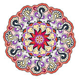 Helder abstract patroon, mandala Stock Afbeeldingen