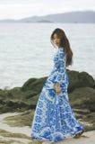 Helder blauw Royalty-vrije Stock Foto's