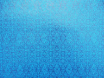 Helder blauw behang Royalty-vrije Stock Foto's